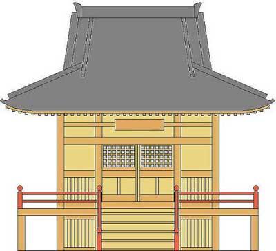 寺院から寄付の案内
